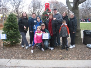 Mayor Howley, family and Clerk's Office staff and family.